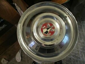 Used 1954 Hudson Wasp Full Wheelcover cleaner 15 Good Looking Original Unit