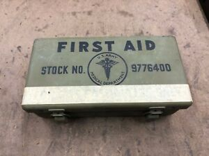 Jeep Dodge Wwii Truck First Aid Kit Willys Ford Wc