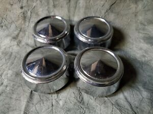 4 Oem 1970 s Dodge Charger Rally Mag Wheel Chrome Center Cap Hubcaps