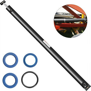 Hydraulic Cylinder Welded Double Acting 2 Bore 30 Stroke Cross Tube 2x30 Sae6
