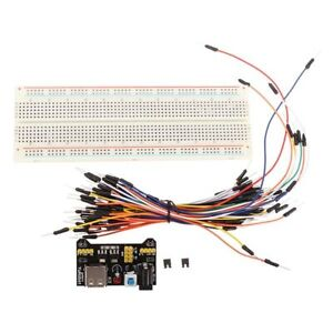 5pcs Geekcreit Mb 102 Mb102 Solderless Breadboard Power Supply Jumper Cable