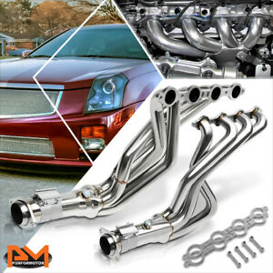 For 04 07 Cadillac Cts v 5 7 6 0l V8 Stainless Steel 4 1 Racing Exhaust Header