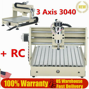 400w Vfd 3 Axis Cnc 3040 Router Engraver Drill Mill Engraver Wood Pcb 3d Cutter