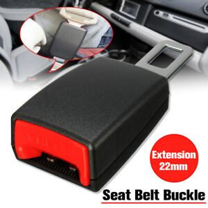 22mm Car Truck Suv Safety Seat Belt Buckle Extension Extender Clip Alarm Stopper