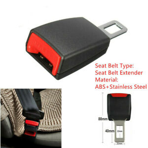 Durable Car Safety Seat Belt 22mm 7 8 Buckle Extension Extender Clip Universal