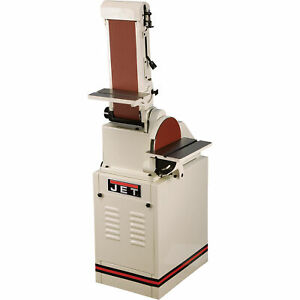 JET Disc and Belt Sander - 6in. x 48in. Belt 10in. Disc Model# J-4200K