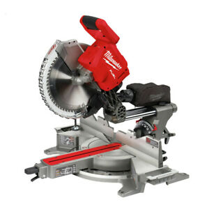 Milwaukee 2739 20 M18 Fuel Li ion 12 In Sliding Miter Saw tool Only New