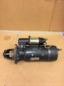 Delco Remy Starter 1988451 Heavy Duty Straight Drive Starter Working Free Ship