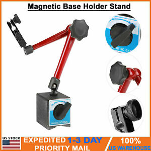 Adjustable Magnetic Base Stand Holder For Dial Test Indicator Gauge Indicator Us