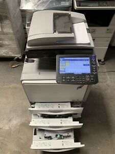 Photocopier Printer Scanner Ricoh Mp C300 Color B w Great Condition Meter