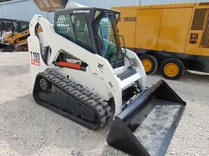 Bobcat T 190 pilot Controls Keyless Security Air Conditioned New Tracks