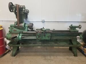 Machine Lathe Shop Tool Vintage Condition Fully Functional