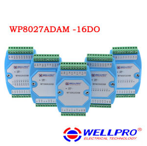 16 channel Isolated Digital Output Switch Module Do Rs485 Modbus Wp8027adam