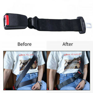 14 Car Back Seat Safety Belt Extender Extension 21mm Buckle Lock Replacement