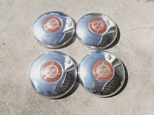 Willys Jeep Jeepster Hubcaps Set Of 4