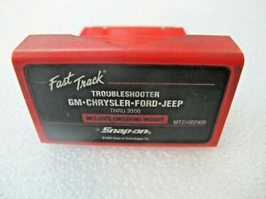 2000 Snap On Mt2500 Scanner Us Domestic Troubleshooter Cartridge Mt25002900