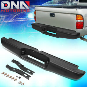 For 1995 2004 Toyota Tacoma Truck Heavy Duty Rear Step Bumper Face Bar Assembly