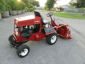Toro 328d Groundsmaster 28 Hp Diesel Engine 4 Wheel Drive 30855 Debris Blower
