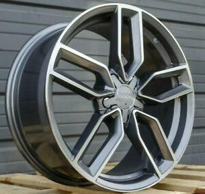 18 Inch Wheels For Audi A3 A4 A5 A6 A8 Q3 Tt Vw Jetta Cc 18x8 0 42 Rims Set 4