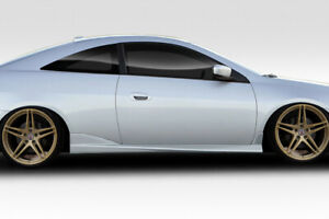 Duraflex H Sport Side Skirts 2 Piece For 2003 2007 Accord 2dr Coupe