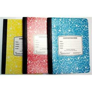 A Plus Homework 1891301 Composition Notebook Assorted Color Case Of 48