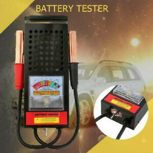 New Battery Load Tester 100 Amp Load Type 6v 12v Mechanics 6 12 V Olt Car Truck