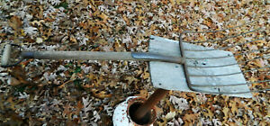 Antique Cast Iron Handle 8 Tine Manure Silage Pitch Fork