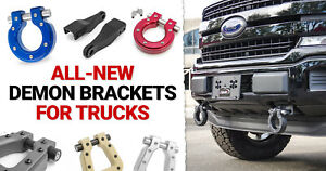 Ami Styling Demon Recovery D Ring Brackets For Toyota Tacoma 09 19 88711