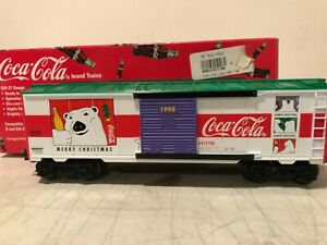 K-LINE K641-5106 1998 COCA-COLA CHRISTMAS CAR NIB
