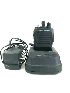 Vertex Standard Vx 417 4 5 450 490mhz Uhf Two way Radio With Battery And Charger