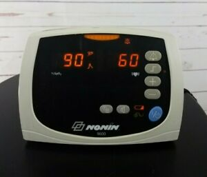 Nonin 9600 Patient Monitor Works