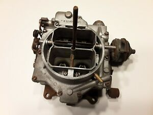 1961 1965 Corvette Impala Ss Chevy 327 Cu In 250 Hp Carter Wcfb Carburetor