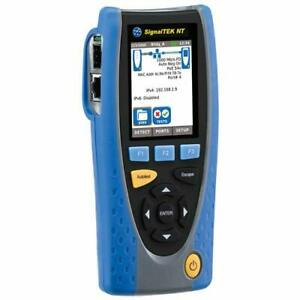 Ideal R156005 Signaltek Nt With Touchscreen Perp Network Transmission Tester