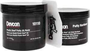 Devcon 1 Lb Pail Two Part Epoxy 45 Min Working Time Series Plastic Steel