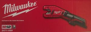 Milwaukee 2471 059 M12 Copper Tubing Cutter Tool Only