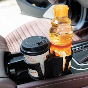 For Car Interior Parts Carbon Fiber Center Console Drink Cup Holder Box Us Stock