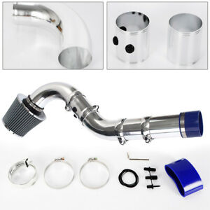 Universal Multiple Combined Cold Air Intake Systems Pipe Kit W Filter Motor New