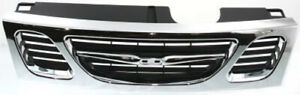 Cpp Chrome Grill Assembly For 1999 2003 Saab 9 3 Grille Sb1200105