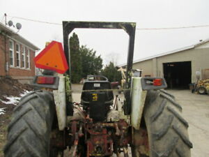 2 Post Roll Bar Rops Off David Brown 1290 Tractor