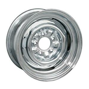Wheel Vintiques 64 Series Ford Chevy Style O E Chrome Wheel 15x7 5x4 75 Qty 4