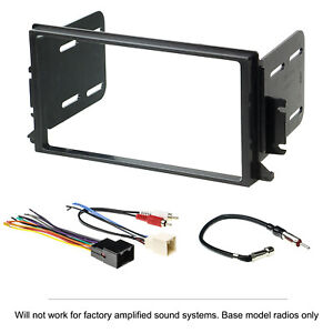 1998 2002 Lincoln Town Car Double Din 2 Din Radio Stereo Installation Dash Kit