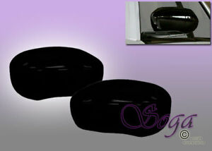 For Chrysler 300 C Dodge Charger Magnum Gloss Black Overlay Side Mirror Covers