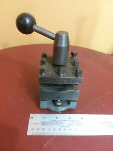 Turret Tool Post For Metal Atlas Lathe Might Fit Southbend Clausing Logan Jet