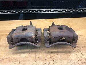 89 94 Nissan 240sx S13 Oem Front Brake Calipers Pair Left right