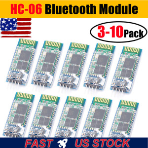 Hc 06 Wireless Bluetooth Serial 4 Pin Master Slave Module For Arduino Base Board