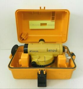 Topcon At g4 Automatic Level Surveying Equipment