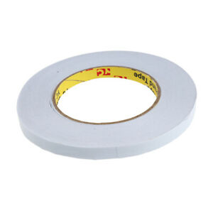 50m Strong Double Stick Tape Double Sided Foam Mounting Tape Width 10mm