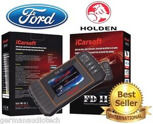 New Icarsoft Fdii Ford Holden Obd2 Best Diagnostic Scan Tool Erase Fault Codes