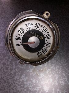 1951 Ford Truck Speedometer And Badge Original Parts 5