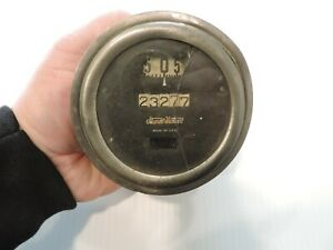 Vintage 1920 s Stewart Warner Speedometer Gauge For Parts Or Restore